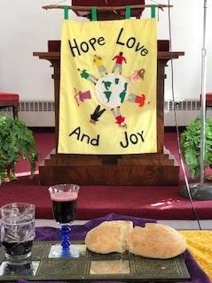 Easter pulpit banner 2